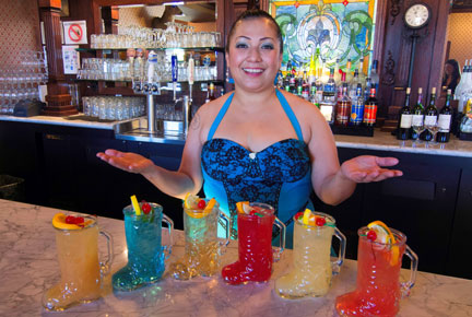 Big E Steakhouse & Saloon Bartender Drinks